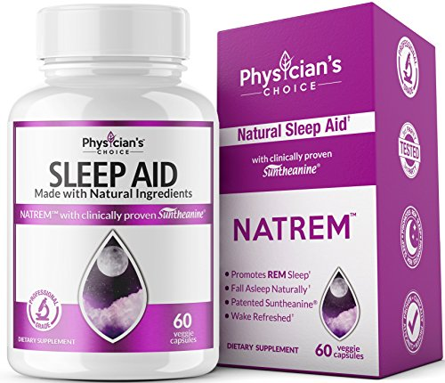 Sleep Aid with Valerian Root [Patented & Clinically Proven] Melatonin -100% Natural- Insomnia Relief; Chamomile, Suntheanine & P5P to Wake Up Feeling Rested: Sleeping Pills for Adults Extra Strength