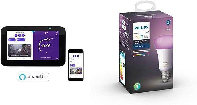 Homix Termostato inteligente con Alexa integrada + una Philips Hue ...