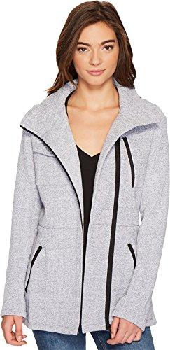 Hurley Women's Winchester Fleece Jacket Heather Grey Jacket