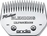 Andis Carbon-Infused Steel UltraEdge Blending Dog Clipper...