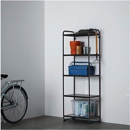 IKEA ASIA MULIG - Estantería, Color Negro: Amazon.es: Hogar