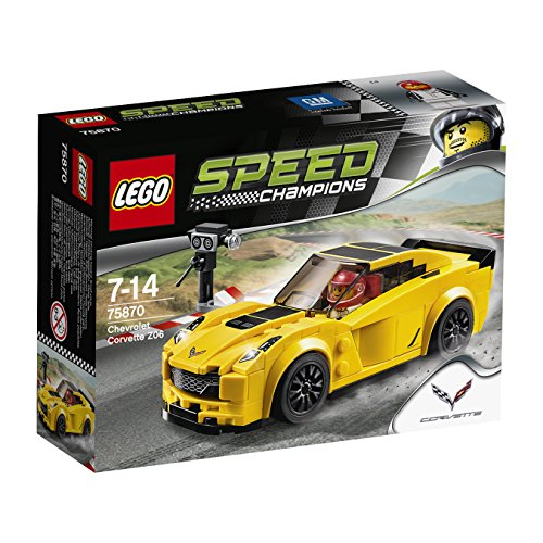 (LEGO Speed Champions Chevrolet Corvette Z06)