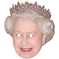 Queen Elizabeth Celebrity Mask