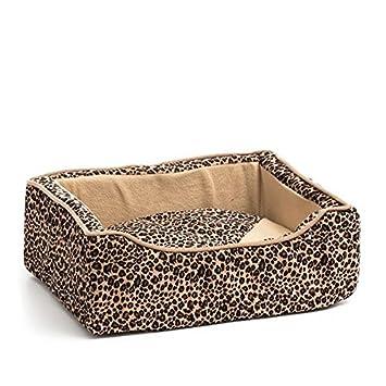 Cesta de dormir con cojín extraíble para perro (45 x 35 cm ...