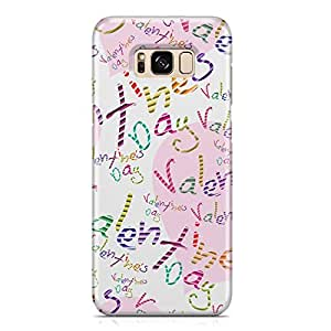 Samsung S8 Case Love Pattern Gift For Girls Durable Metal Inforced Light Weight Samsung S8 Cover Wrap Around 133