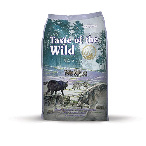 Taste of the Wild Sierra Mountain Grain Free Protein Real Meat Recipe Natural Dry Dig Food with Real Roasted Lamb 30lb