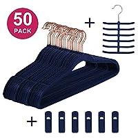 VECELO Premium Velvet Hangers/Suit Hangers Heavy Duty