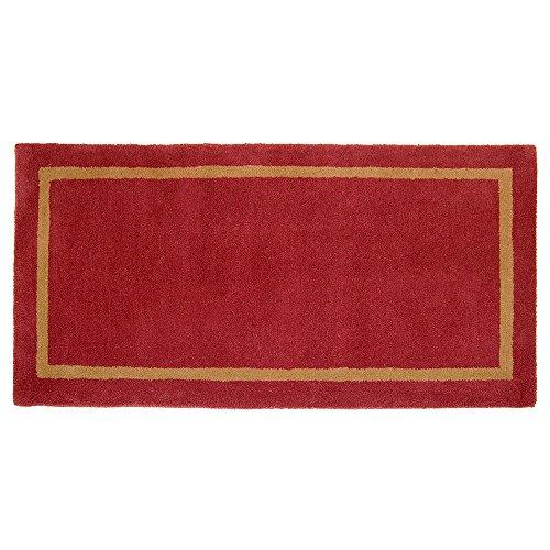 Minuteman International Sangria Contemporary Wool Hearth Rug, Rectangular