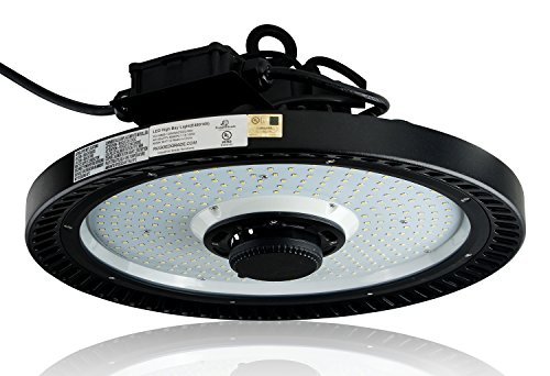 Motion Sensor 21,750 Lumen LED High Bay Light - 150 Watt LED High Bay Light - 5000K - with Motion Sensor - 150 Watt LED High Bay Lighting UFO LED Light - Ultra Efficient 145 Lumen to Watt