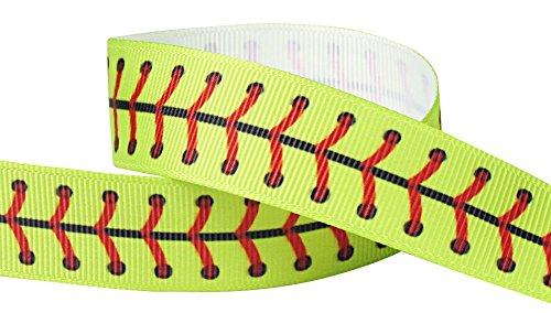 hipgirl school sports softball grosgrain ribbon
