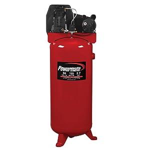 PowerMate Vx PLA3706056 60-Gallon Air Compressor Single Stage Vertical Cast Iron
