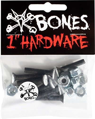 Bones 1-Inch Skateboard Mounting Hardware by Bones Wheels