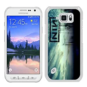 Popular Samsung Galaxy S6 Active Cover Case ,Nine Inch Nail White Samsung Galaxy S6 Active Case Hot Sale And Unique Designed Phone Case