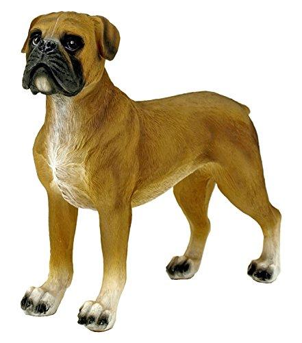 Statue Dog Puppy (DWK Boxer Puppy Dog Statue Figurine)