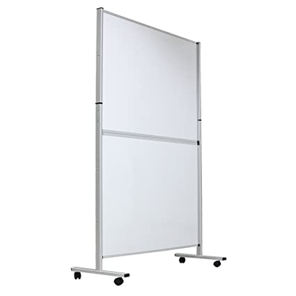office devider. VIZ-PRO Mobile Room Divider/Office Partition, Double-sided Magnetic Whiteboard 48\u0026quot Office Devider