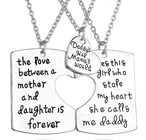 Boosic Daughter Pendant Necklace Jewelry