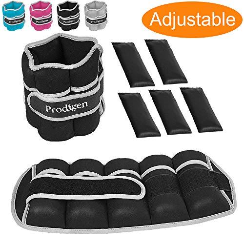 Prodigen Adjustable Ankle Weights Set for Men & Women Ankle Wrist Weight for Walking