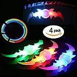 4pcs Bike Bicycle Cycling Spoke LED Neon Light Flash Lamp Bulb Safety Alarm