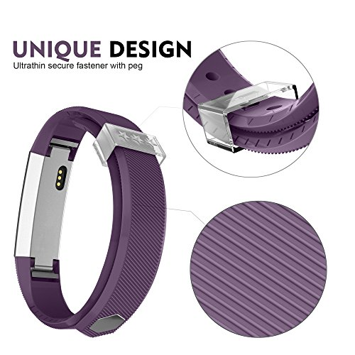 Greeninsync Fitbit Alta Bands, Fitbit Alta HR Accessory Replacement Band Small/Large Watchbands for Fitbit Alta Wristbands Fitbit Alta/Fitbit Alta HR Strap Bracelets (5pack)