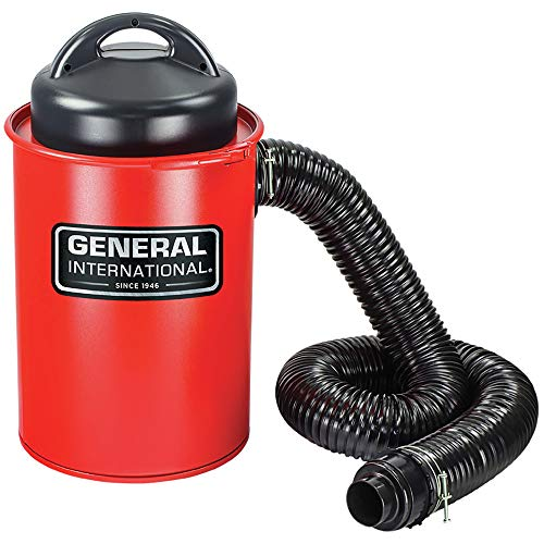 General International BT8008 2-in-1 Portable Dust Collector, Red Powder Coated ()