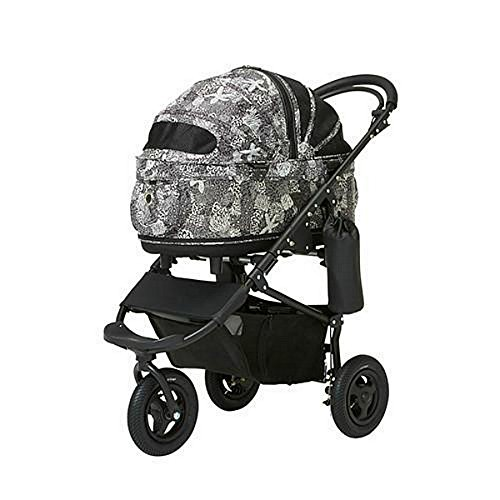 AirBuggy for Dog - Dome2 Brake Small - Ltd Edition Iolani Black (NO INTERNATIONAL SHIPPING) … by AirBuggy for Dog