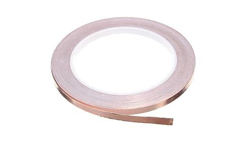 kingken 1 pc práctico cinta de lámina de cobre para guitarra blindaje EMI adhesivo barrera