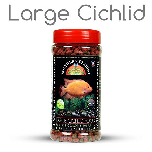 Colored Pellets Fish (Southern Delight Large Cichlid fish food)
