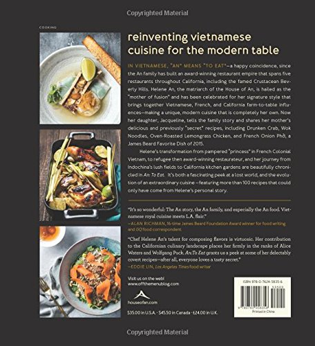 Amazon an to eat recipes and stories from a vietnamese amazon an to eat recipes and stories from a vietnamese family kitchen 9780762458356 helene an jacqueline an books forumfinder Choice Image