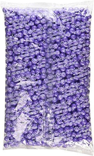 Sweetworks Sixlets Shimmer, Lavender, 2 Pound]()