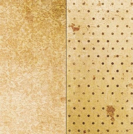 - Bobunny Double Dot Vintage Double-Sided Cardstock 12
