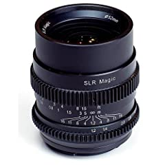 The field of view of the SLR Magic CINE 35mm F1.2 opens up many new creative composition opportunities, particularly in the fields of portrait, interior, architectural and landscape cinematography and photography. SLR Magic places the highest...