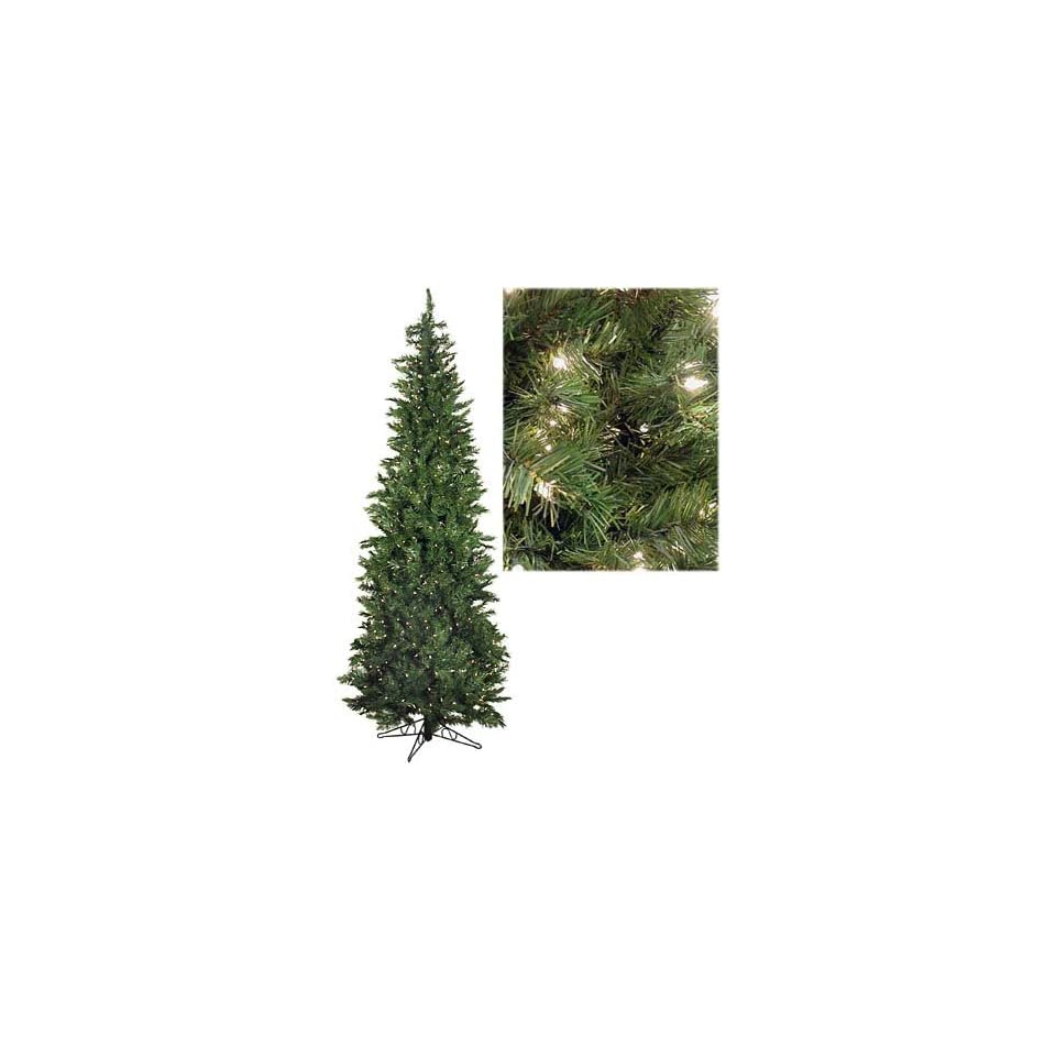 Just Cut Natural Spruce Artificial Christmas Tree   Pre Lit Clear