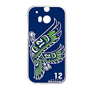 QQQO SEAHAWKS Cell Phone Case for HTC One M8