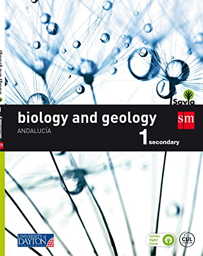 Biology and geology. 1 Secondary. Savia. Andalucía - 9788416730476