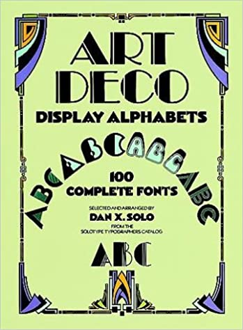 art deco display alphabets dover pictorial archive series