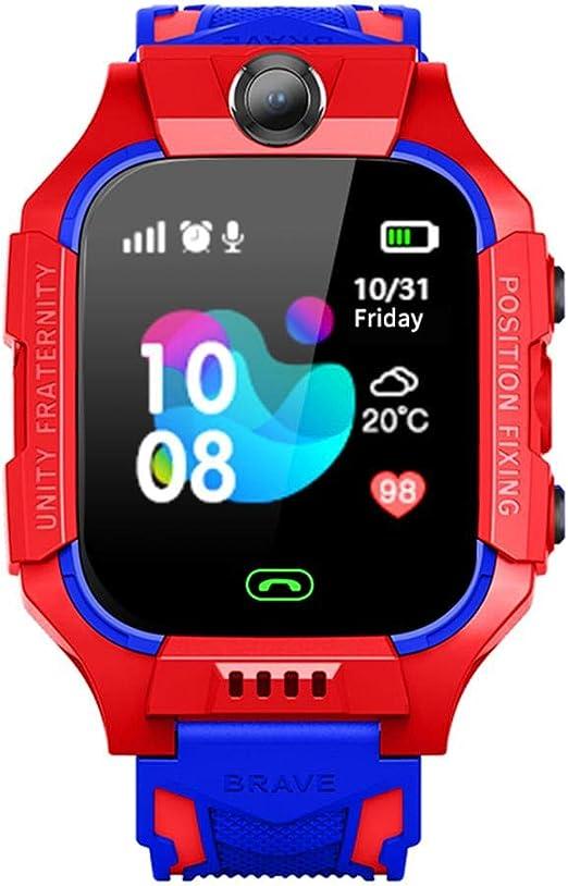 Smartwatches Niños Teléfono GPS Tracker Reloj Inteligente SOS Anti ...