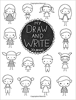 My Draw And Write Journal Primary Composition Notebook For Kids