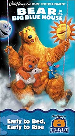 bear in the big blue house early to bed early to rise vhs - Big Blue House