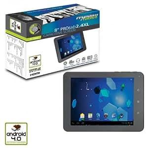 Point of View ProTab 2.4 XL 4GB Grey - Tablet (IEEE 802.11n, Pizarra, Gris, IEEE 802.11b, IEEE 802.11g, IEEE 802.11n, DDR3-SDRAM, 800 x 600 Pixeles)