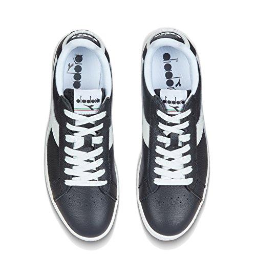 noir Diadora Gymnastique C1092 Chaussures Game Homme Low blanc Noir De Pour L 5PwY8Axq