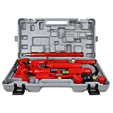 ZENY 10 Ton Porta Power Hydraulic Jack Body Frame Repair Kit Auto Shop Tool Lift Ram