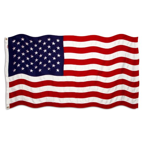 American Flag 4ft x 6ft Valley Forge Koralex II 2-Ply Sewn Polyester - (2 Ply Sewn Polyester)