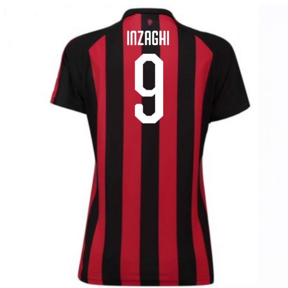 2018-2019 AC Milan Puma Home Damenschuhe Football Soccer T-Shirt Trikot (Filippo Inzaghi 9)