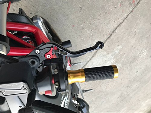 FXCNC Racing CNC Aluminum Short Adjustable Brake Clutch Levers for Suzuki GSXR600 GSXR750 2004-2005