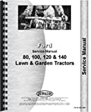 Ford 120 Lawn & Garden Tractor Service Manual