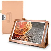 kwmobile Elegant synthetic leather case for Acer Iconia One 10 (B3-A30) in rose gold with convenient STAND FEATURE