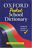 img - for OXFORD POCKET DICTIONARY book / textbook / text book