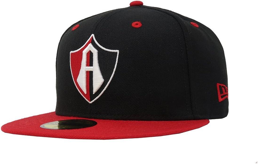 NEW ERA 59Fifty Hat Guadalajara Atlas Soccer Club Mexican League Fitted Cap (6 7/