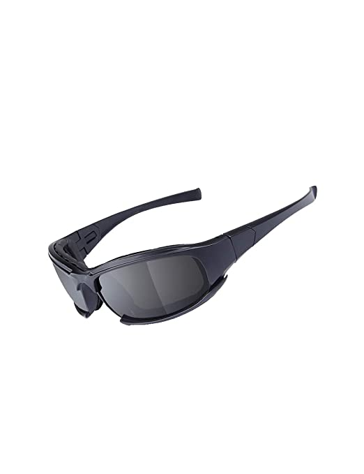 MOKAYA Gafas de Sol polarizadas del ejército, Gafas ...