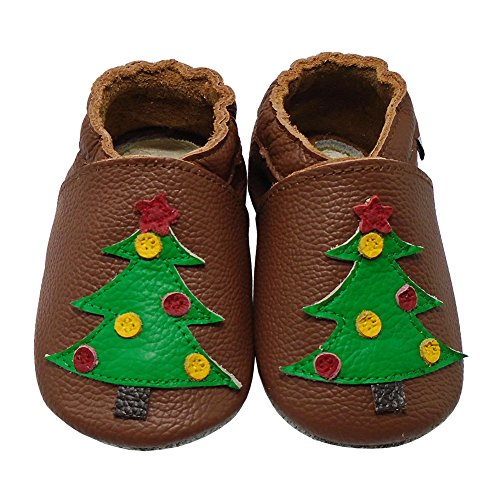 Leather Pram Shoes For Babies - 8
